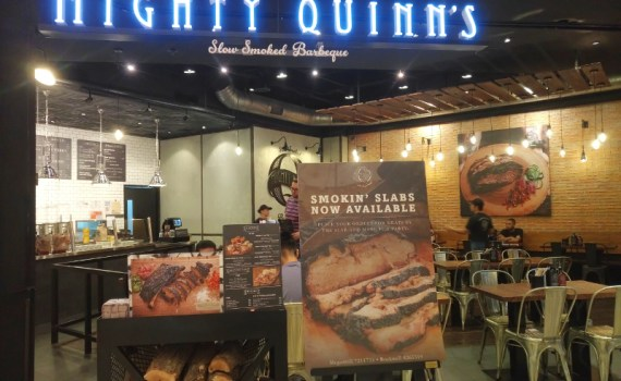 Mighty Quinn's at Power Plant Mall in Makati City