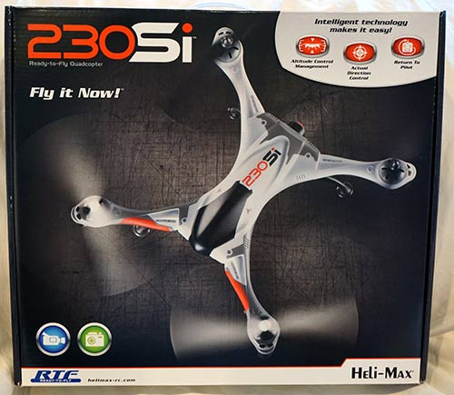 Heli-Max 230Si Quadcopter Retail Box - Front