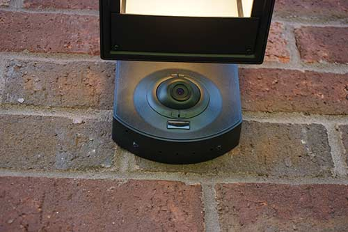 Kuna Security WiFi Light Installed