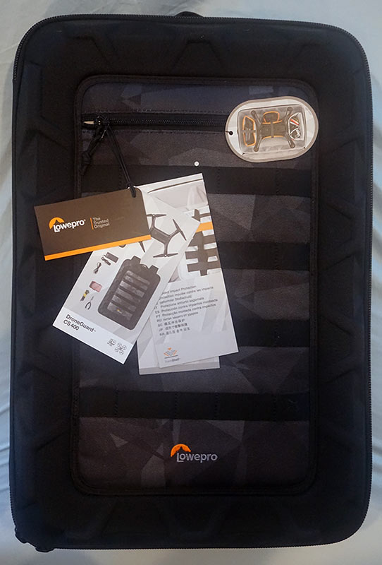 Lowepro CS 400 Drone Backpack Case - Front view