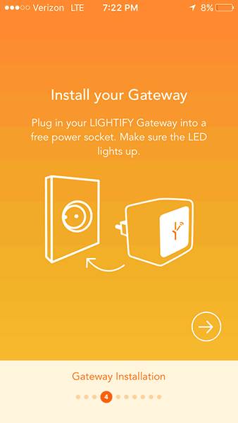 OSRAM LIGHTIFY - Gateway Installation
