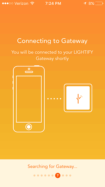 OSRAM LIGHTIFY - Gateway WiFi Connection