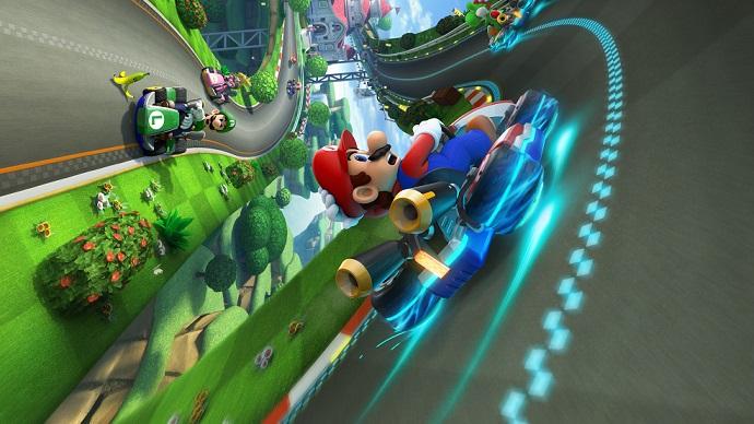 Mario Kart 8: Donut Plains 3 SNES Head-to-Head Comparison