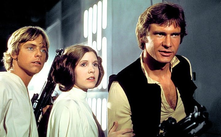 Star Wars A New Hope Lead Actors