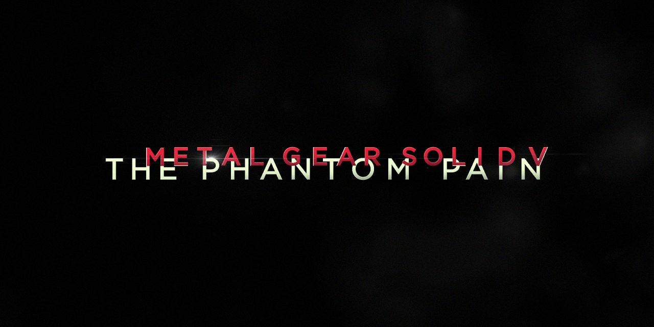 Metal Gear Solid V: The Phantom Pain E3 Demo