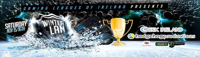 WinterLAN – Ireland's only eSport event returns!