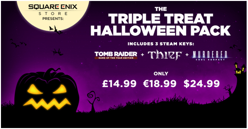 Square Enix Slash Prices in Halloween Sale