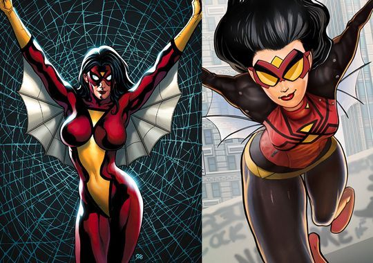 Spider-Woman's New Look
