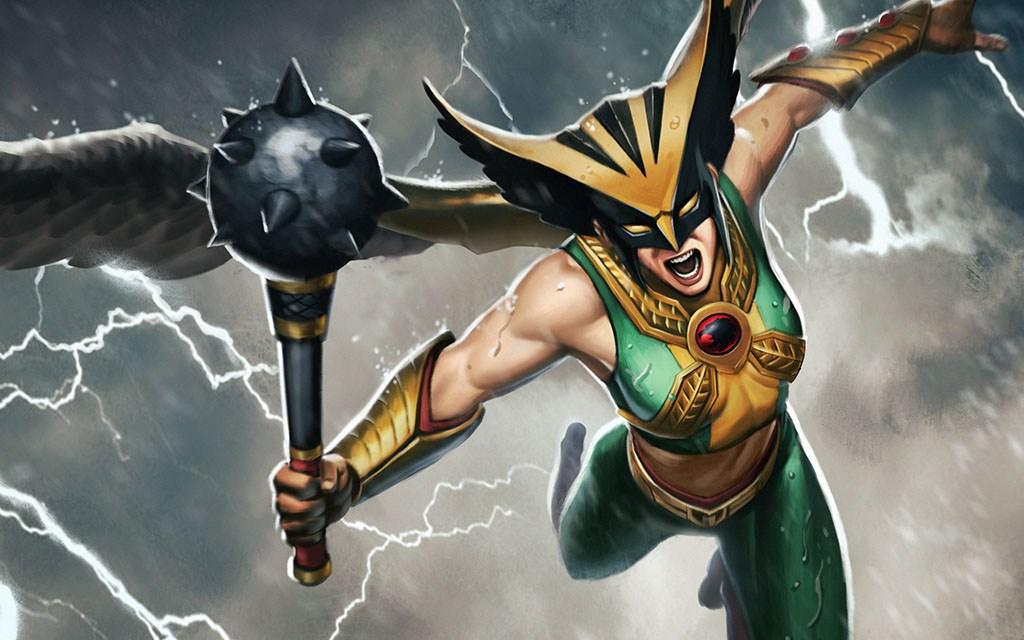 Infinite Crisis: Fight crime as Hawkgirl!