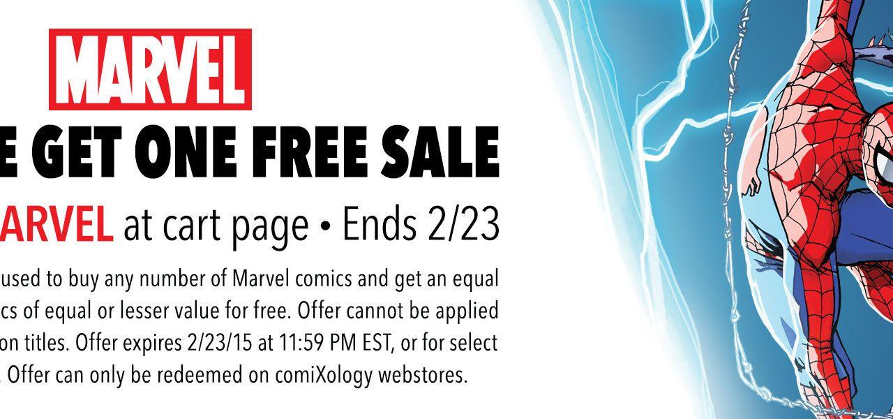 Big Comixology Marvel sale till 23rd Feb