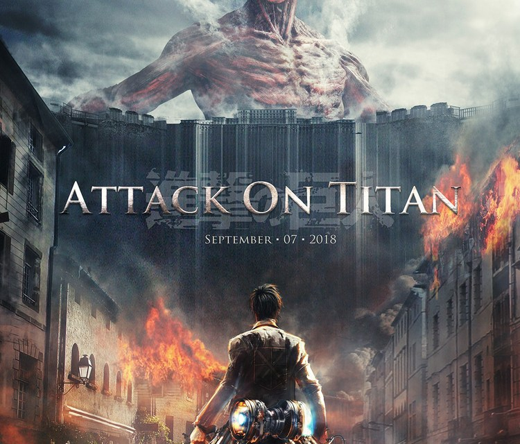 Live Action Attack On Titan Footage!