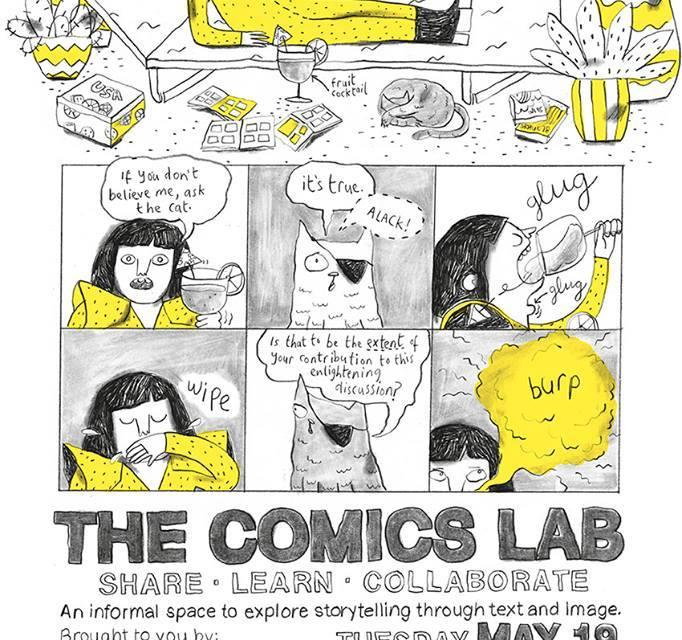 Event Reminder: The Comics Lab