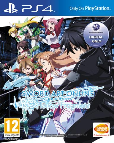 Sword Art Online Re: Hollow Fragment & Lost Song coming to Europe!