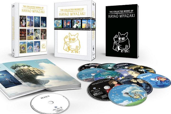 Hayao Miyazaki & Studio Ghibli Plan to release Blu-Ray of Collected Treasures