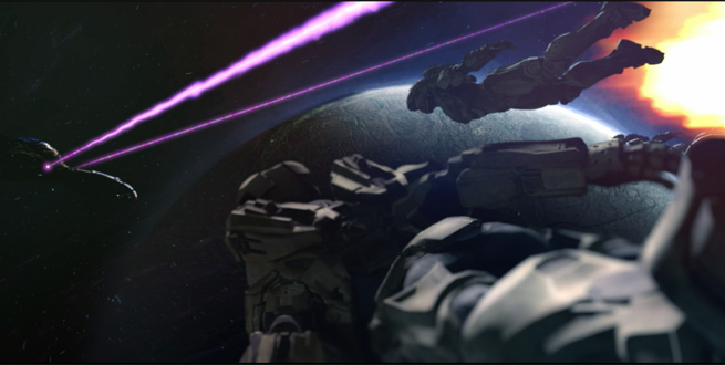 Halo: Fall of Reach Animated Series Trailer