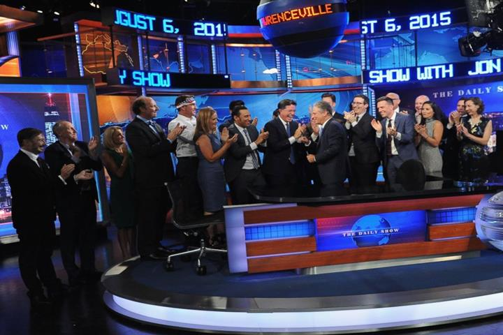 Jon Stewart Exits Daily Show With A Bang