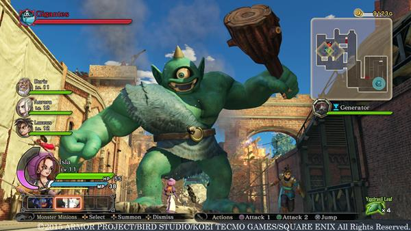 Dragon Quest Heroes show off Scary yet loveable monsters!