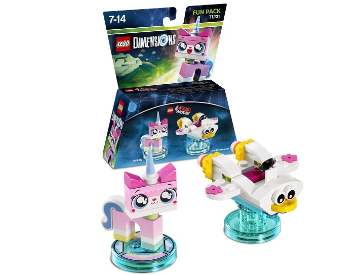 Alison Brie & Unikitty are back in LEGO Dimensions!