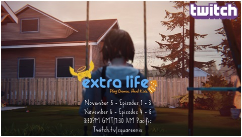 Life is Strange Stream to raise money for Extra Life