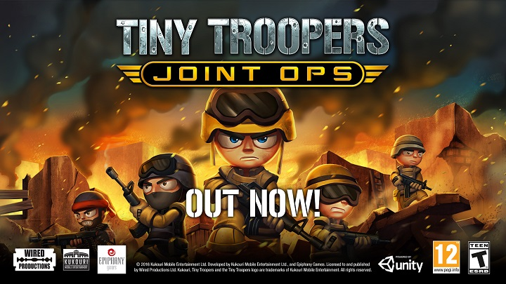 Tiny Troopers Joint Ops Deploys Onto Xbox One with New, Exclusive Content
