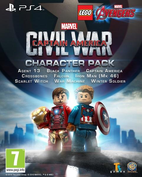 New look at Marvel's Captain America: Civil War in NEW LEGO Marvel's Avengers Trailer!