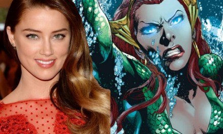 Amber Heard officially confirms playing Queen Mera!