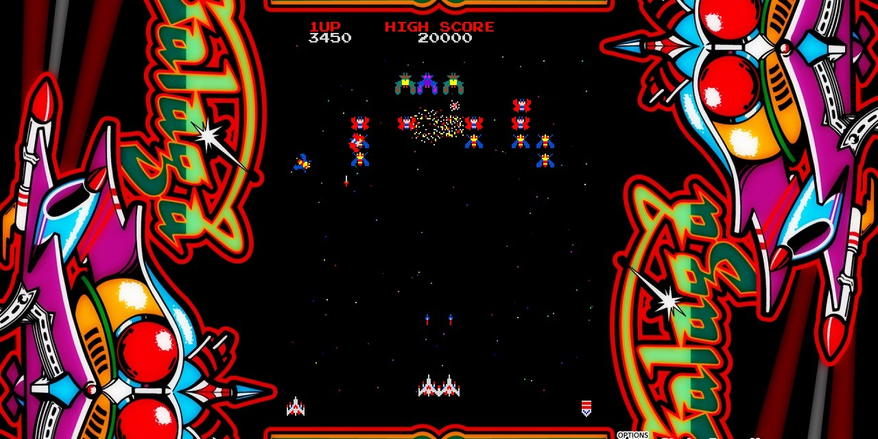 Return to the golden age of the arcade with the release of Galaga & more