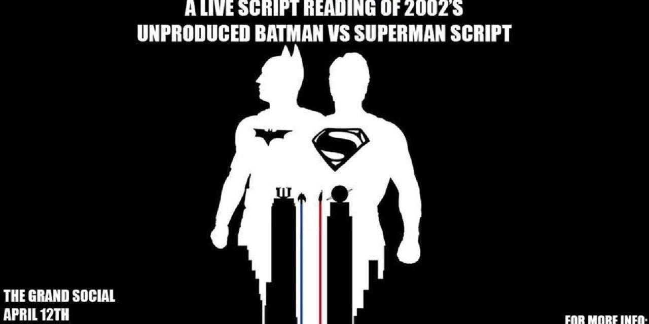 Review: Storybreakers Podcast Presents: Batman v Superman, a live script reading.