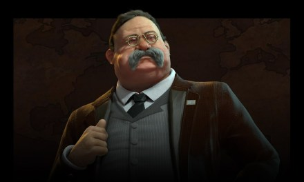 Theodore Roosevelt leads America in Civilization VI