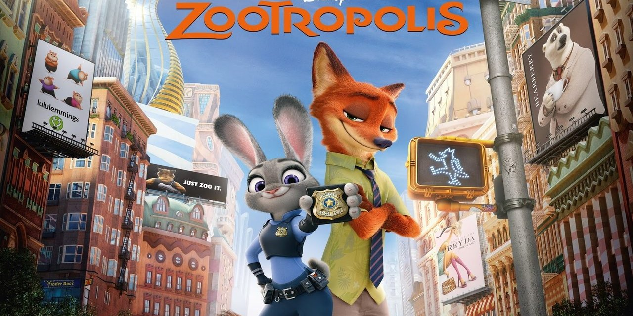 Zootropolis is the 2nd Highest Grossing Original Movie