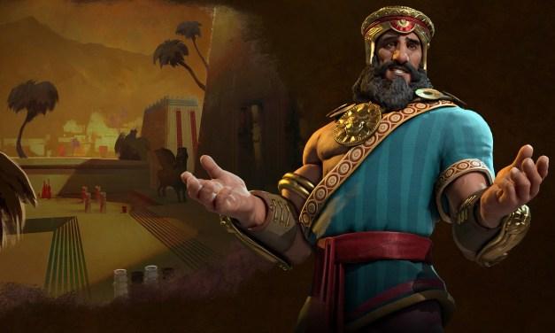 Gilgamesh joins Sid Meier's Civilization VI