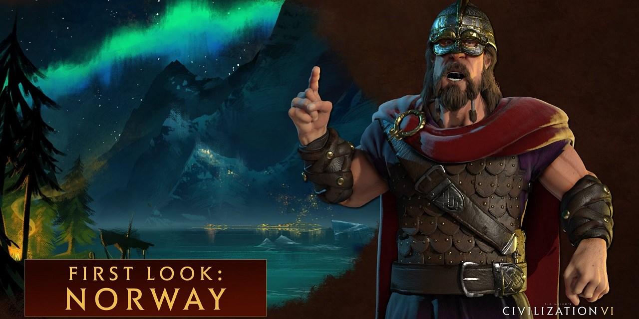 Harald Hardrada leads Norway in Civilization VI
