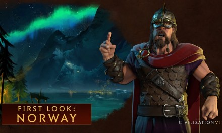 Harald Hardrada leads Norway in Civilization VI