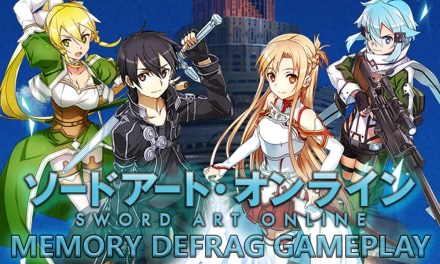 Sword Art Online: Memory Defrag coming to the app store and google play