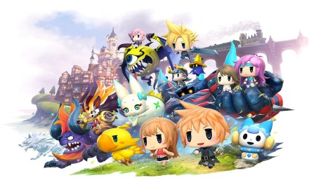 WORLD OF FINAL FANTASY comes alive in playable demo arriving next week