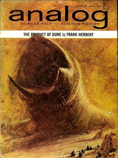 Analog Magazing Dune Frank Herbert