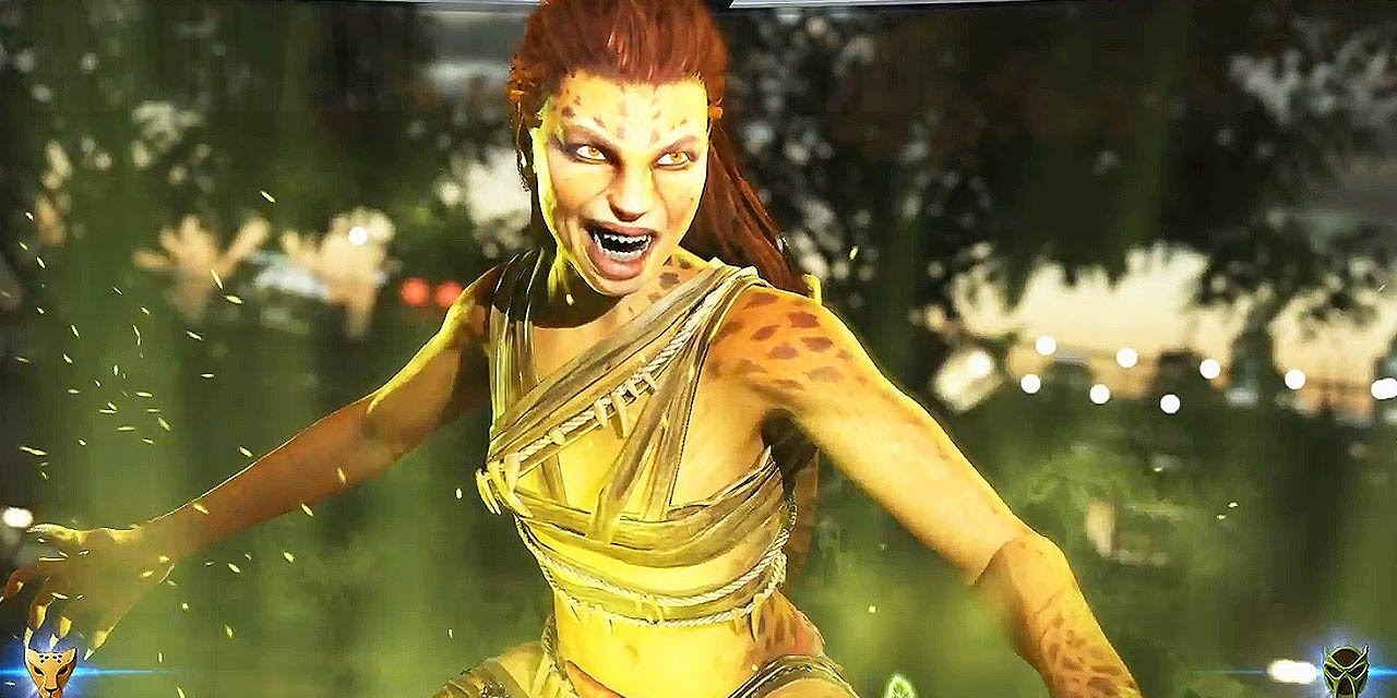 Cheetah Revealed for Upcoming Injustice 2