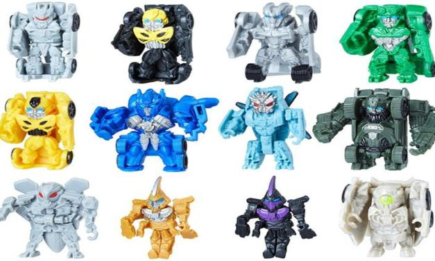 Toy Review: Transformers: The Last Knight Tiny Turbo Changers (Series 1)