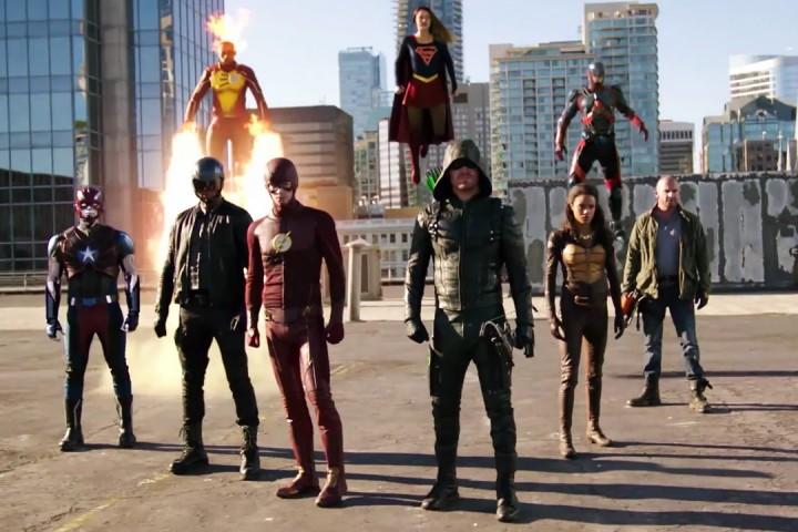 Arrowverse Crossover 2016 Heroes