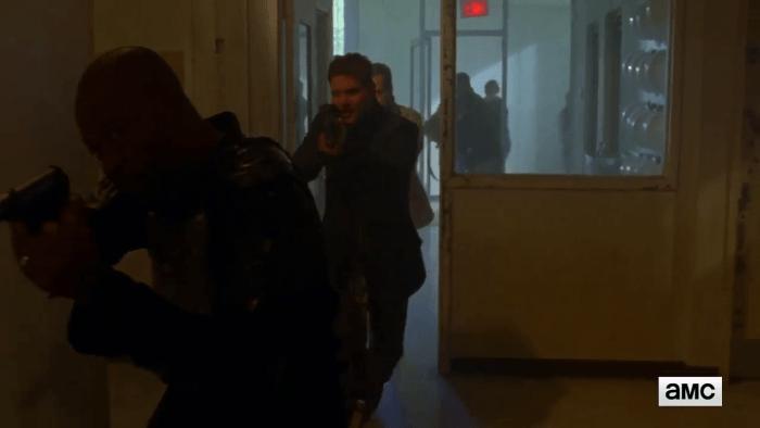 The Walking Dead Morgan leads Sneak Attack