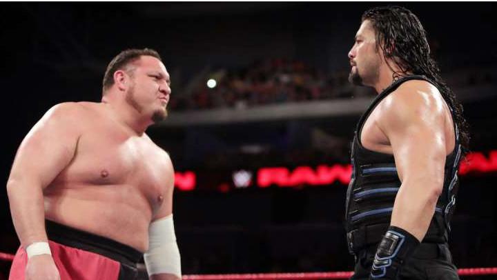 Samoa Joe Roman Reigns RAW