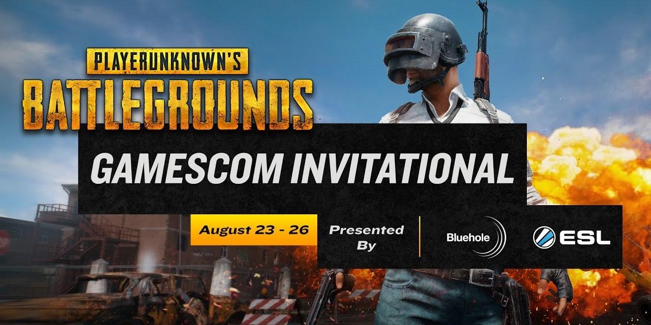 Gamescom 2017: PUBG Invitational