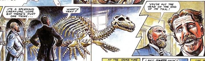 cope marsh bone wars comic