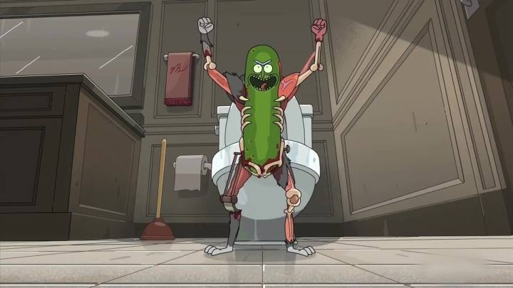 Rick and Morty Pickle Rick!