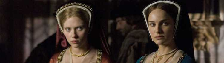 Top 10 beste Britse royals in film en TV the other Boleyn girl