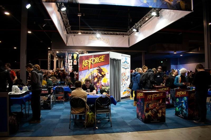 Fotoreportage: Dutch Comic Con Winter Edition 2018 Keyforge