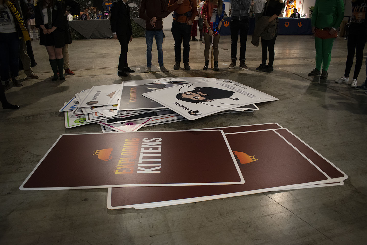 Fotoreportage: Dutch Comic Con Winter Edition 2018 Exploding Kittens