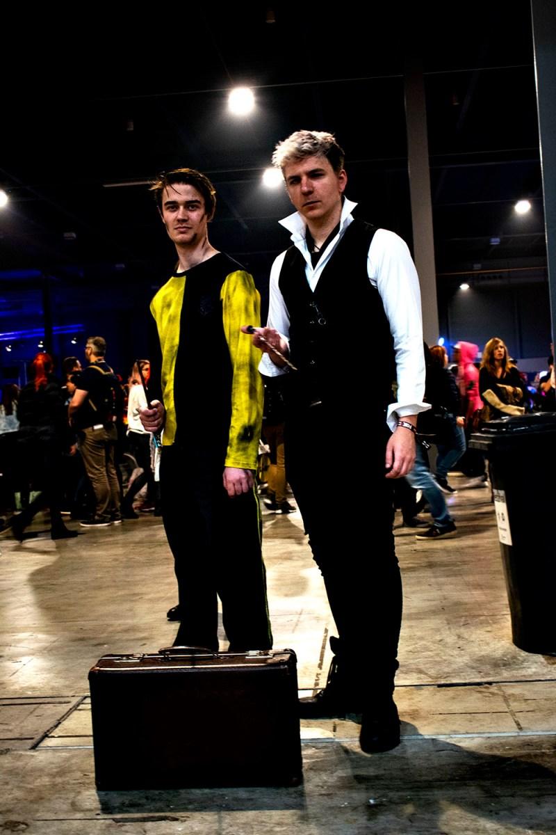 Dutch Comic Con Winter Editie 2018: Cosplay Cedric Diggory en Gellert Grindelwald