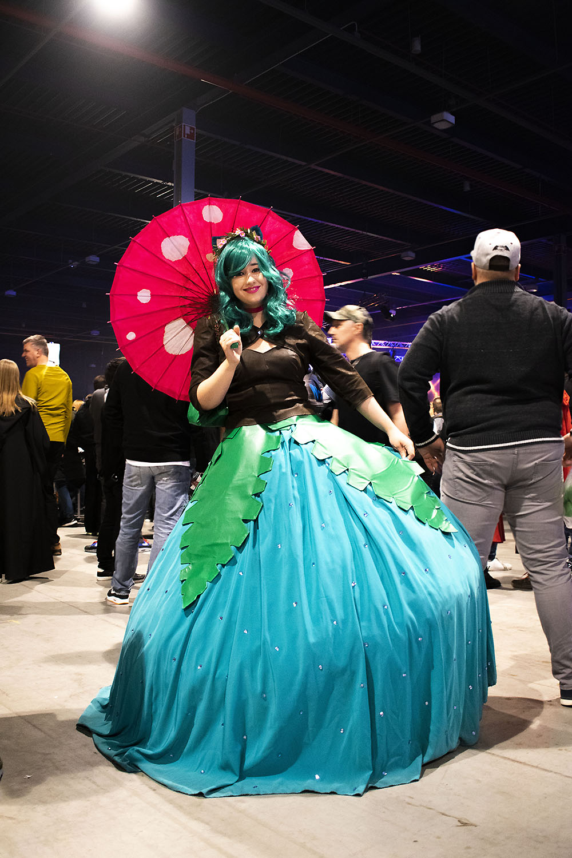 Dutch Comic Con Winter Editie 2018: Cosplay Venusaur