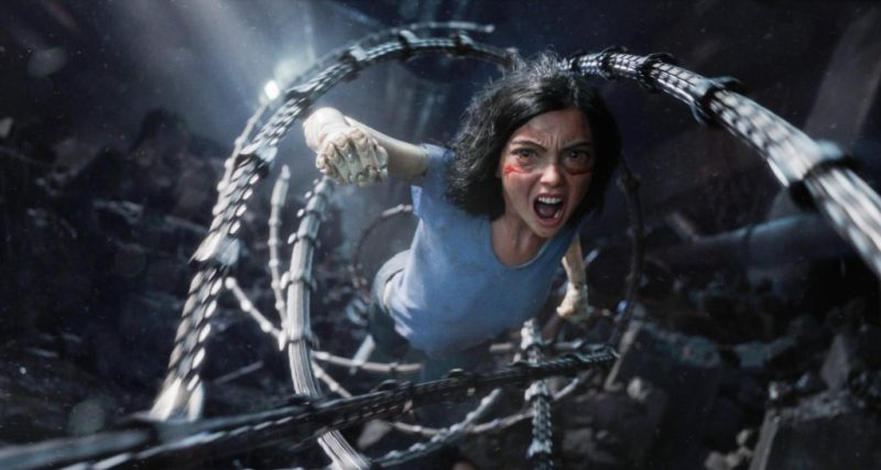 Recensie: Alita: Battle Angel is een film vol actie